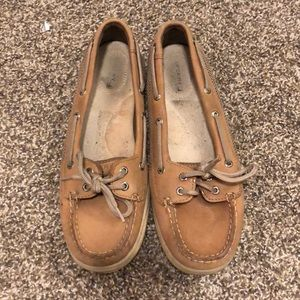Sperry Top-Sider Tan Boat Shoes size 9